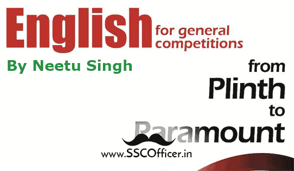 Book-PDF: Paramount's Best English Book For SSC CGL Tier-2 Exam, Best English Book for SSC Exams- SSC Officer