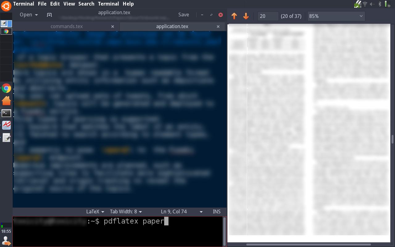 My Linux desktop setup: Ubuntu + Xfce + Xmonad | Ahmet Yıldırım