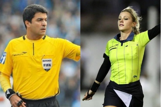 3ec4ebae35a Refereeing World  Sandro Ricci and Fernanda Colombo announced their ...