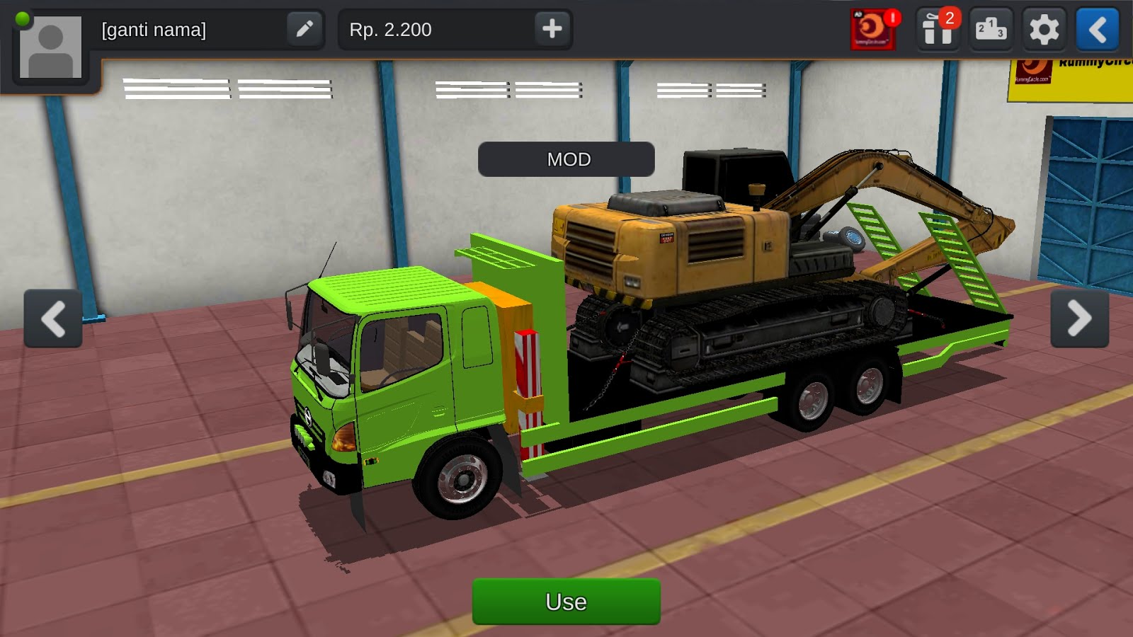 Bussid Mod Heavy Truck With Excavator Mod Download Bus Simulator Indonesia Mod Download Tamilinfoworld