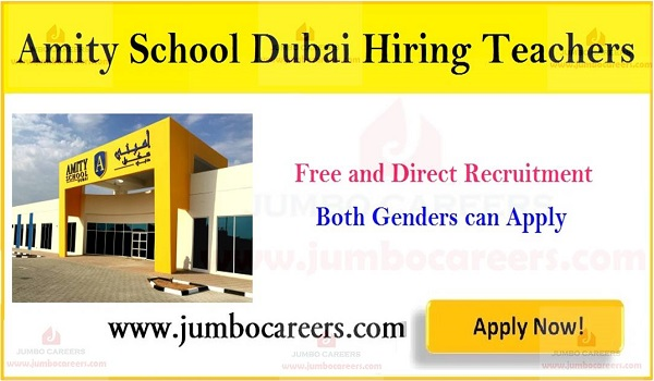 Jobs for teaching staff in Dubai, Dubai teachers job openings,