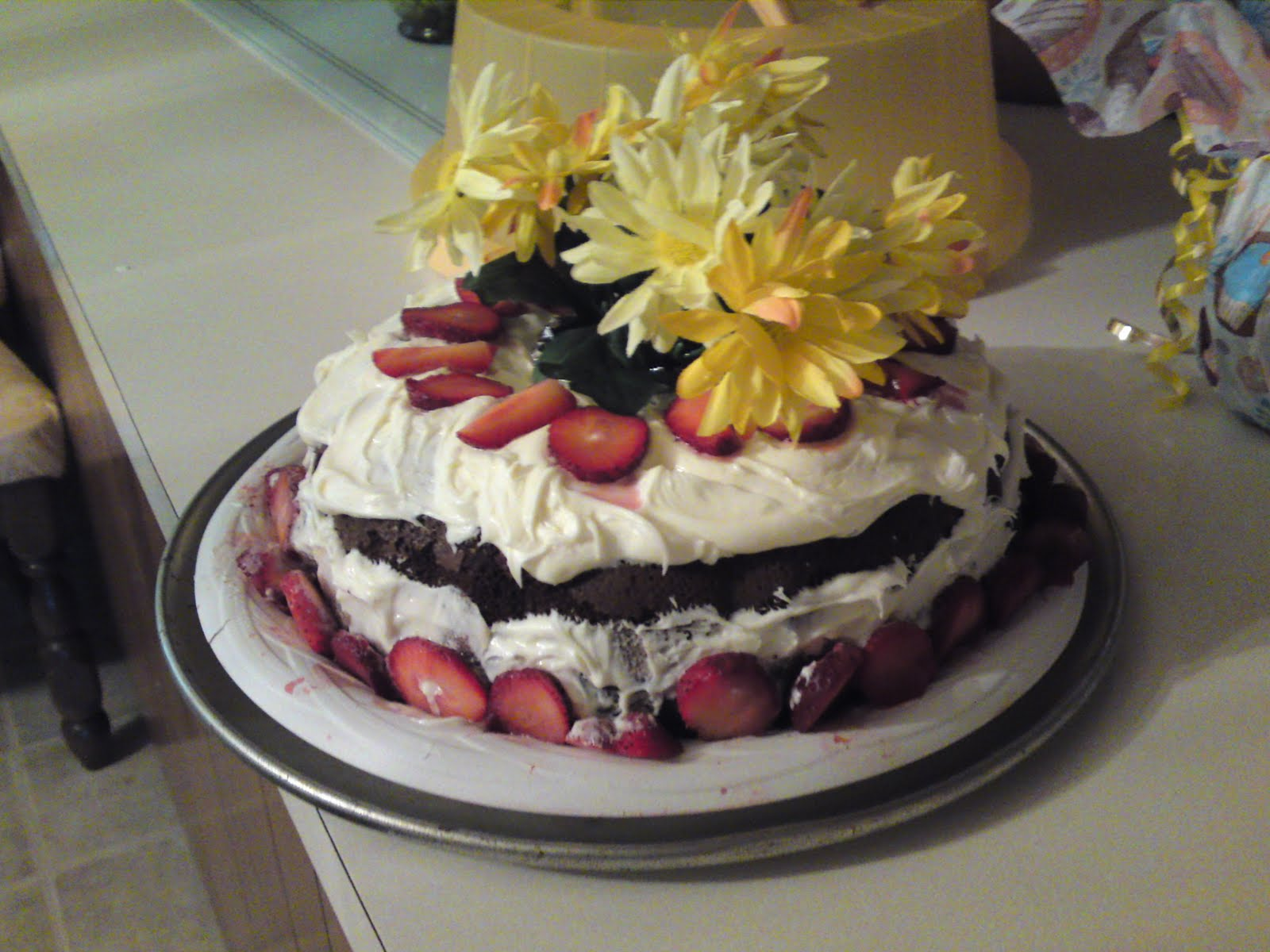 Uncle Ron S Blog Try Flowers On Your Next Birthday Cake