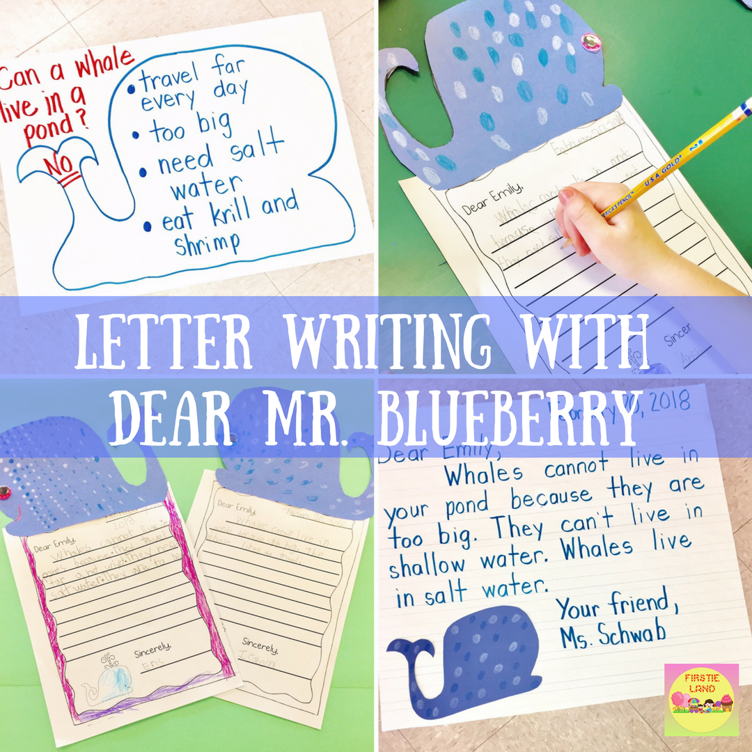 First Grade Letter Writing