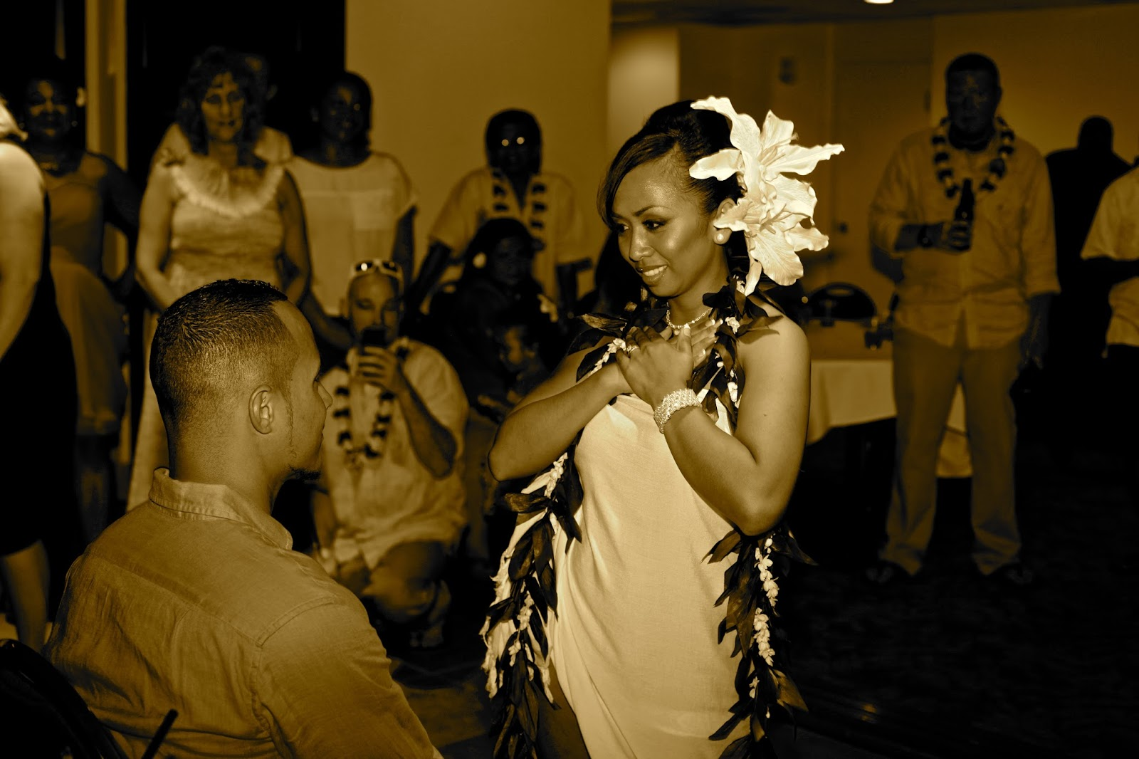Hawaii Beach Wedding Bride Filipino Themed Wedding And Tradition