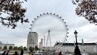 Clothes & Dreams: Travels: One Day in London: London Eye
