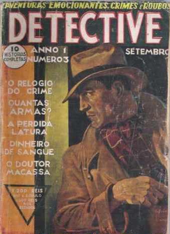 Revista Detective - literatura pulp
