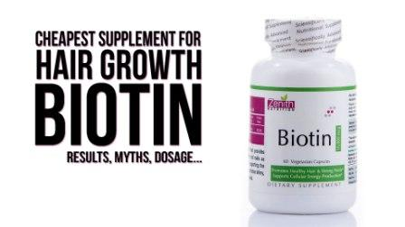 Biotin Supplement for Hair Growth