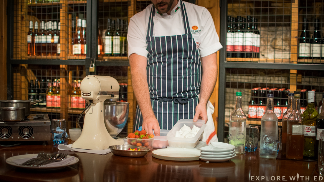 Meringues, Newbridge on Usk, Cooking Masterclass
