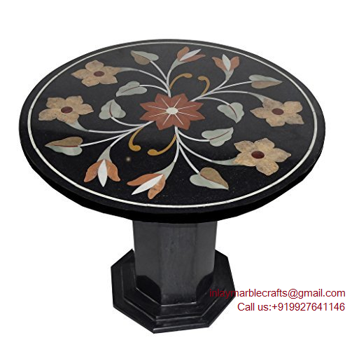 Mosaic Table Top|Stone Mosaic Table Top |Inlay Marble Crafts| Shop Here!  Call : +919927641146