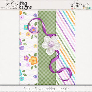 Creative Team for LDrag Designs -    Spring Fever and Coordinating Freebie
