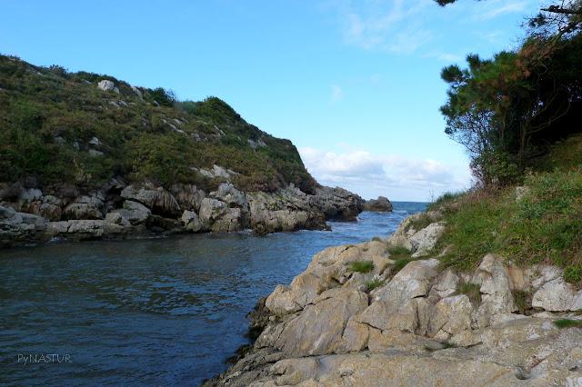 Playa de La Güelga - Villahormes - Llanes
