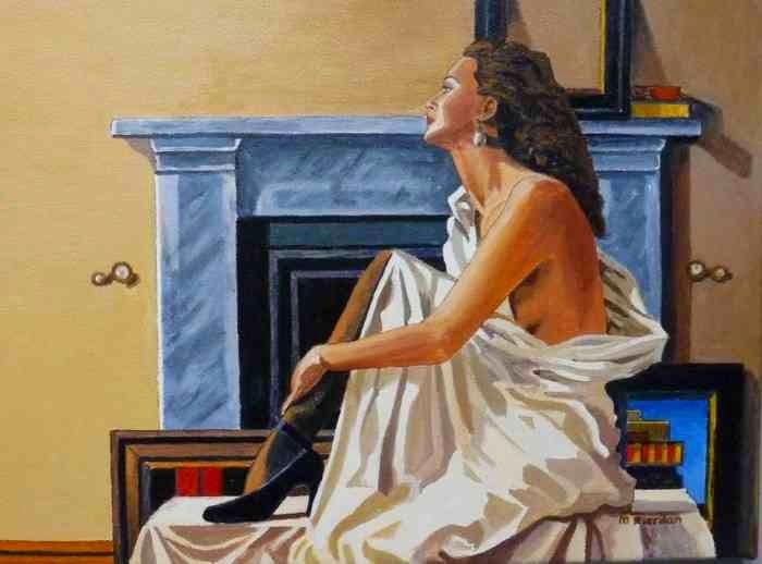 """""""Я люблю рисовать людей"""". Margaret Riordan"""
