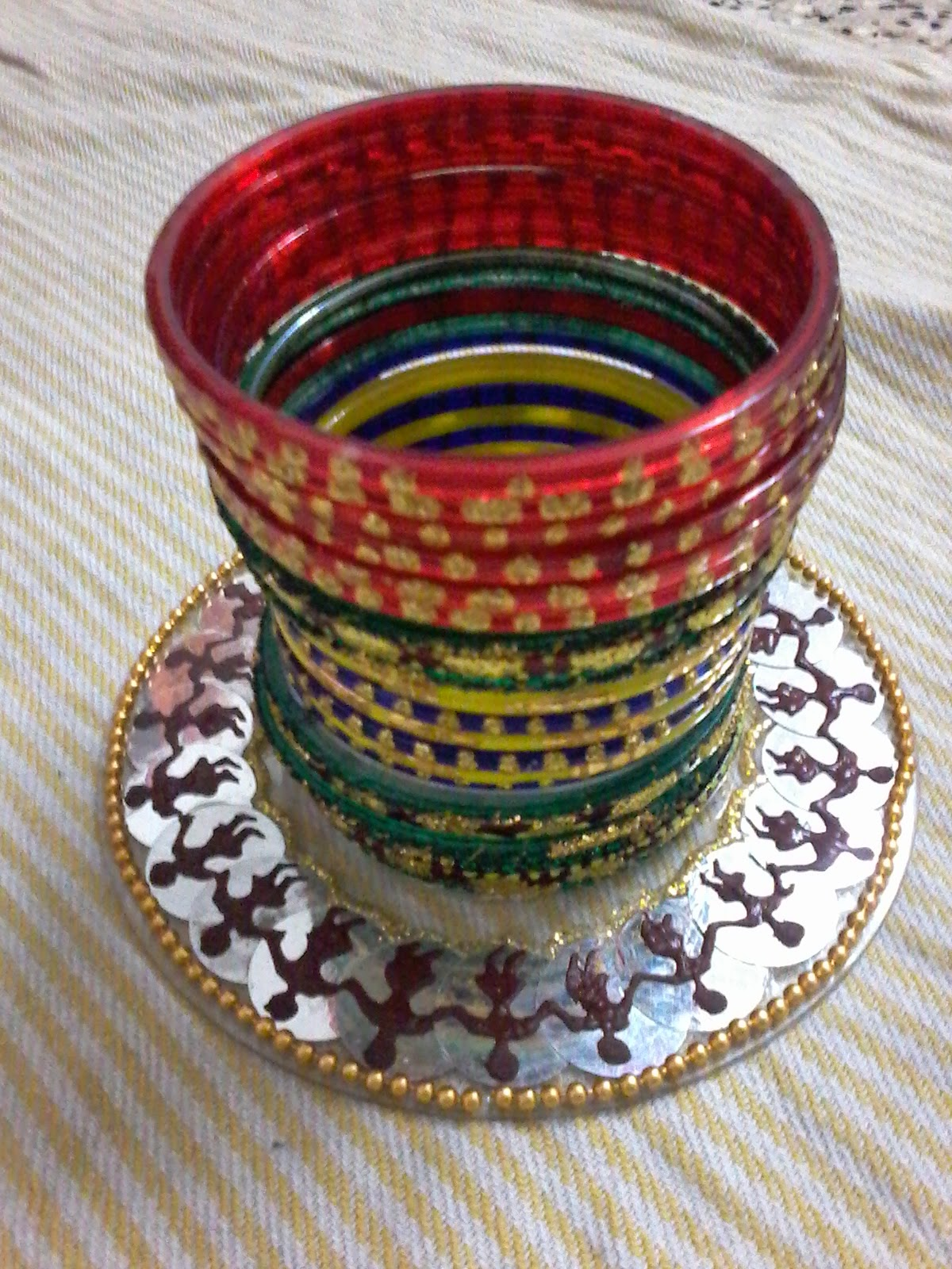 Recycling of waste material handmade crafts ideas for Handmade craft of waste material