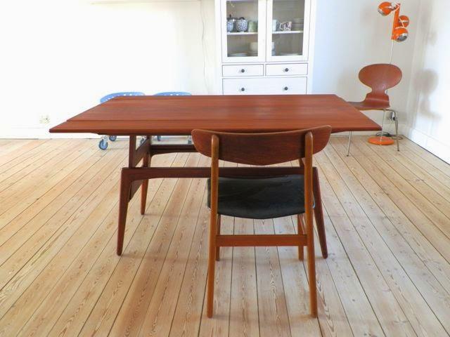 retro møbler fyn Retro Furniture: Københavnerbord sofa  og spisebord i teaktræ retro møbler fyn
