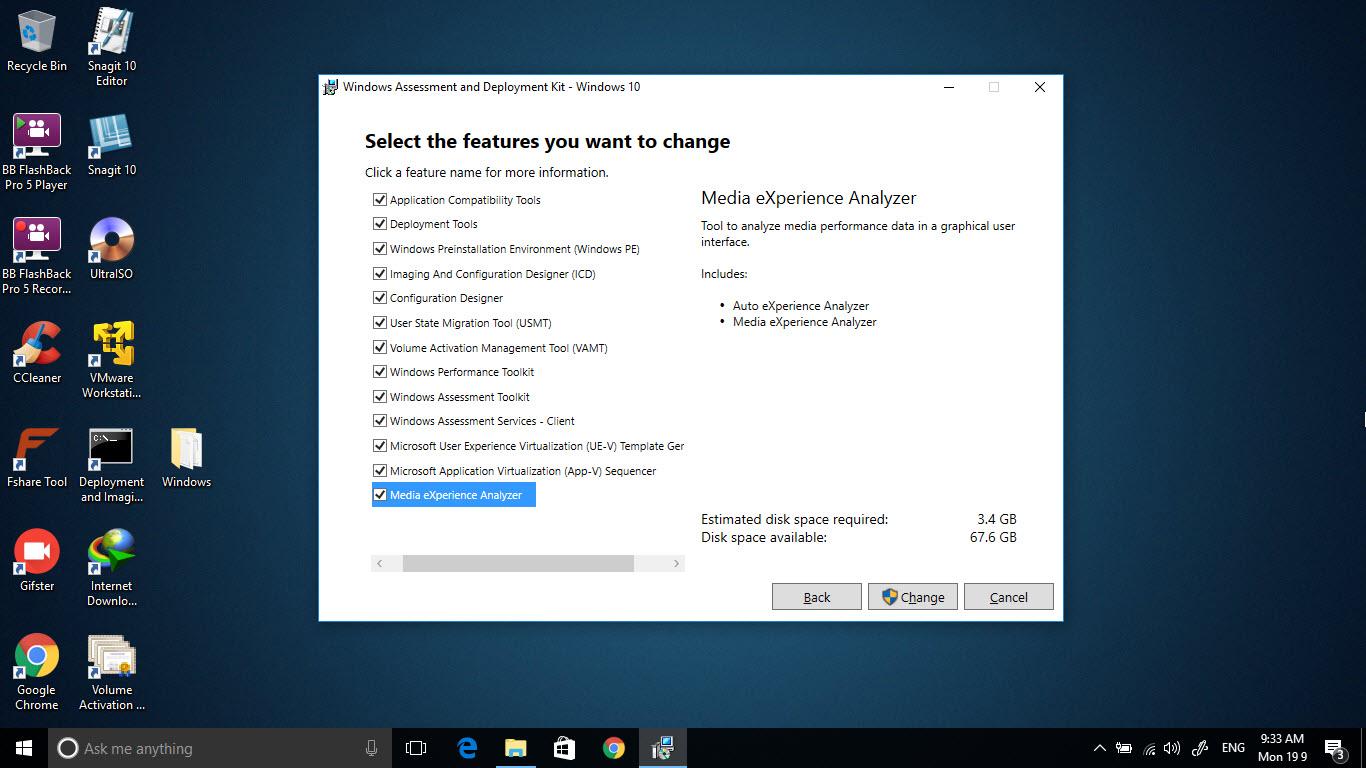 Mời tải về Windows ADK cho Windows 10 phiên bản 1703 cài đặt offline