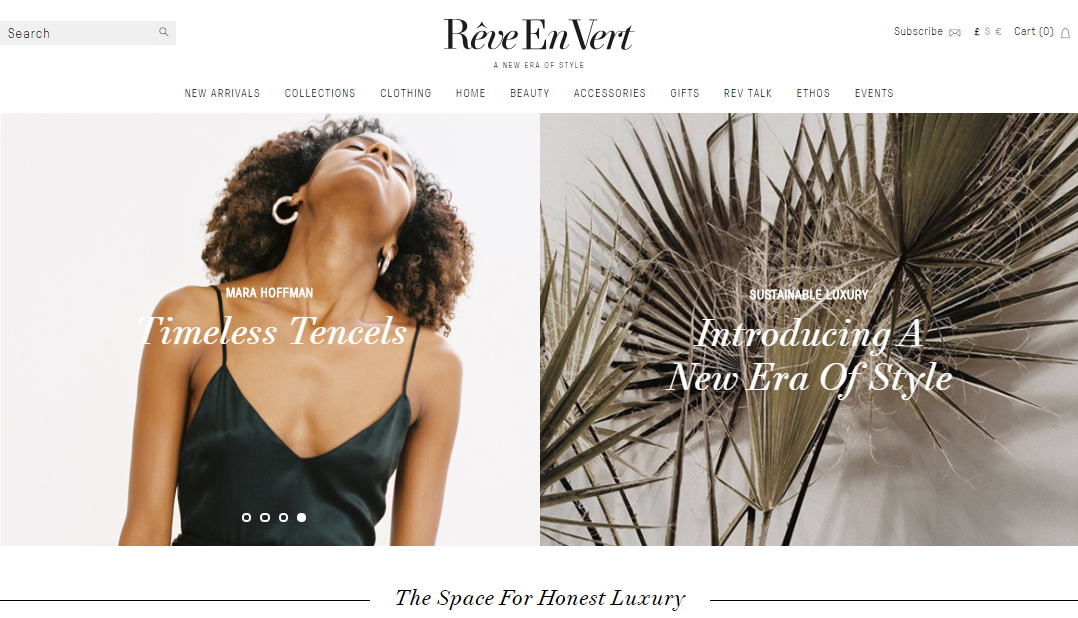 Sustainable Luxury Fashion Store Reve En Vert - Best sustainable fashion stores - ethical fashion