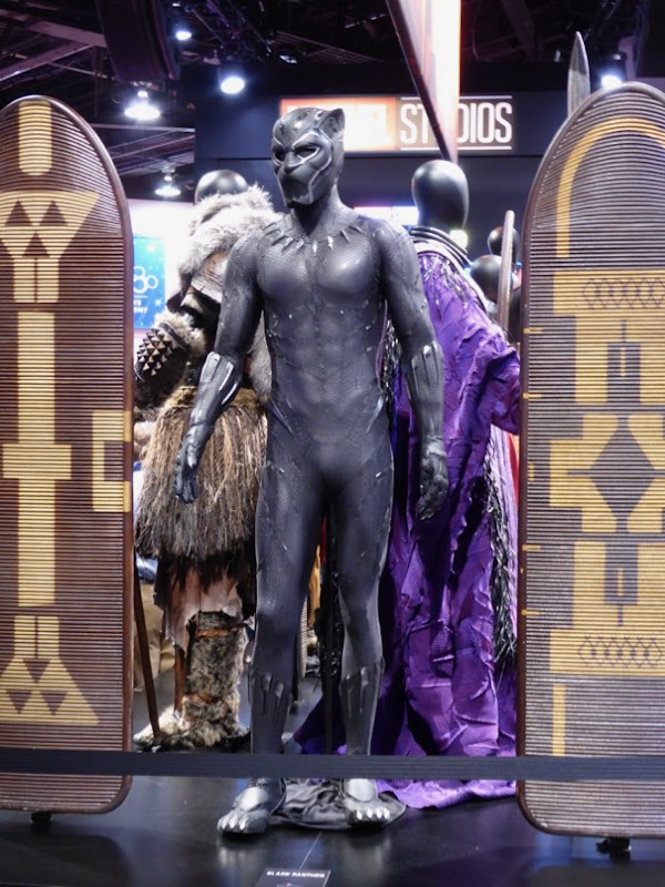 Chadwick Boseman 2018 Black Panther movie costume