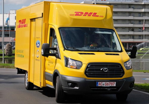 Tinuku DHL and Ford unveiled StreetScooter Work XL electric van