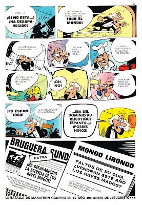 Ali Oli, Tio Vivo 2ª Almanaque 1970