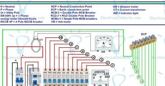 3 phase wiring installation in multi story building electrical rh electricalonline4u com