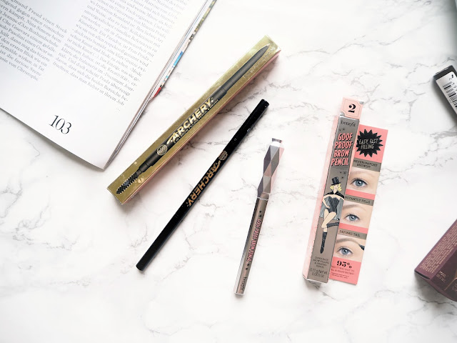 UK Beauty Haul, Soap & Glory Archery Brow Pencil, Benefit Goof Proof Eyebrow Pencil