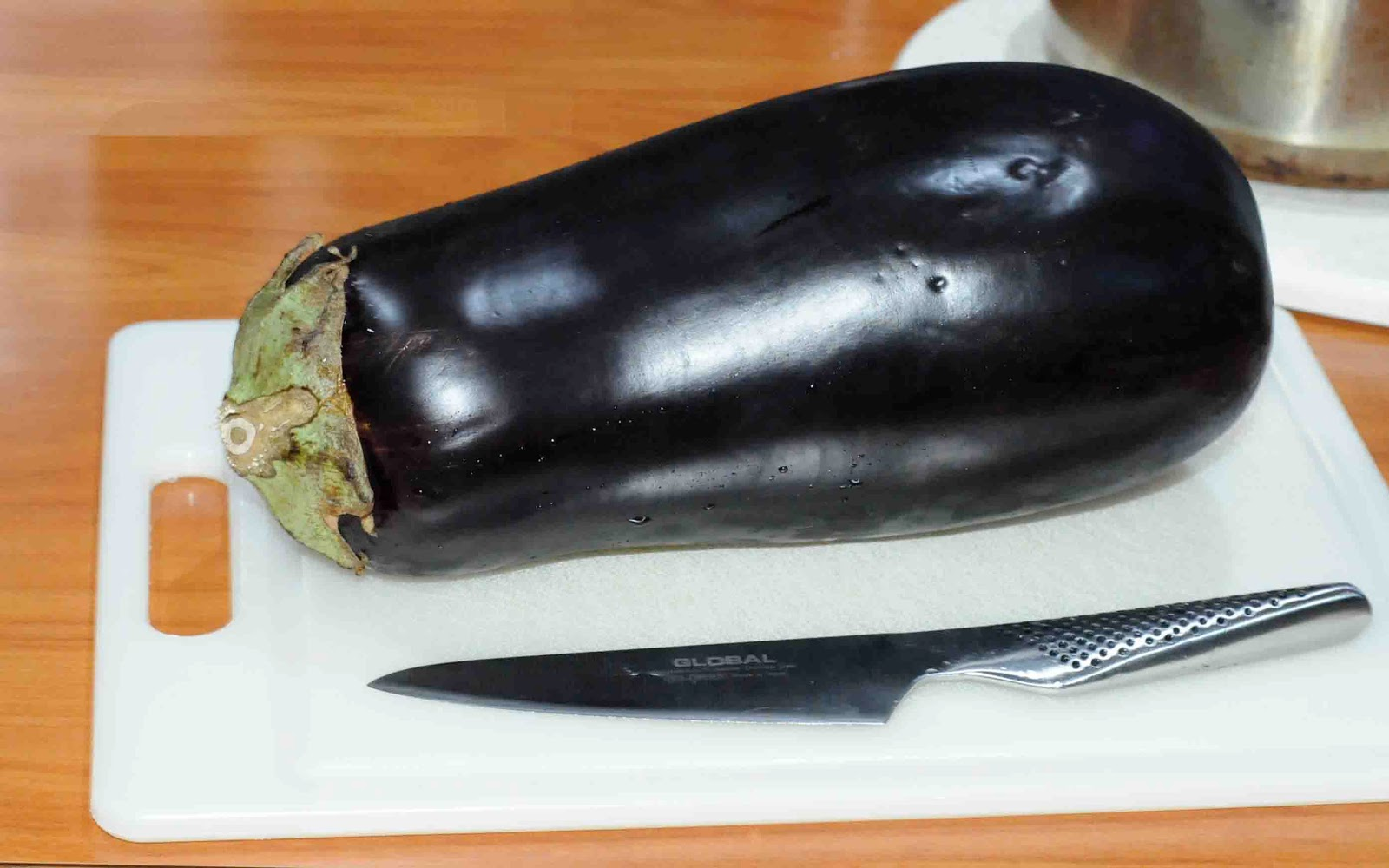 Eggplant in the ass