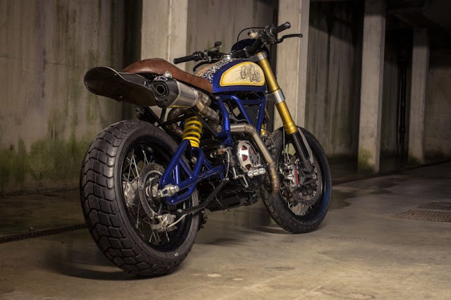 Ducati Scrambler By Home Made Motorcycles Hell Kustom