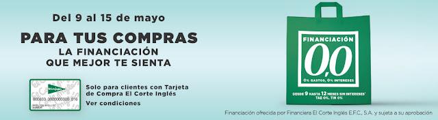 Top 10 Ofertas del 9 al 15 de mayo de El Corte Inglés