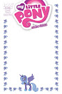 My Little Pony Micro Series #10 Comic Cover Blank Variant