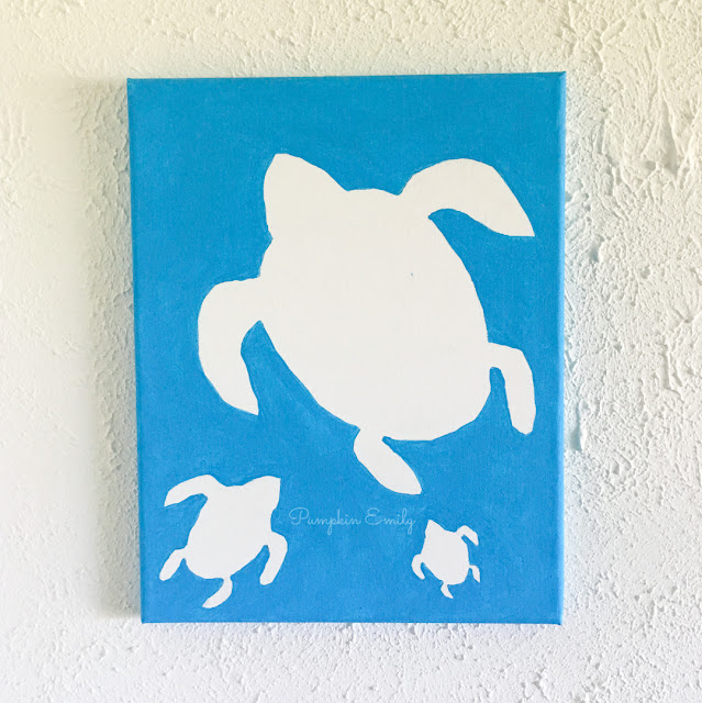 DIY Turtle Canvas