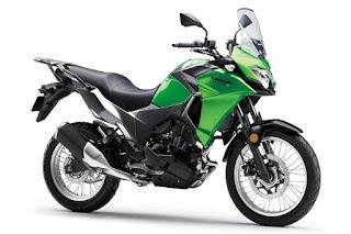 Kawasaki Versys-X 300 (2017) Front Side