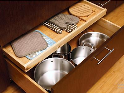 15 Desain Rak Dan Laci Dapur Minimalis Untuk Menyimpan Barang Yang Kreatif Dan Inovatif 12