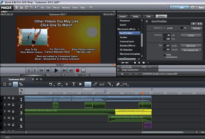 Picture in Picture Video Editing in Magix