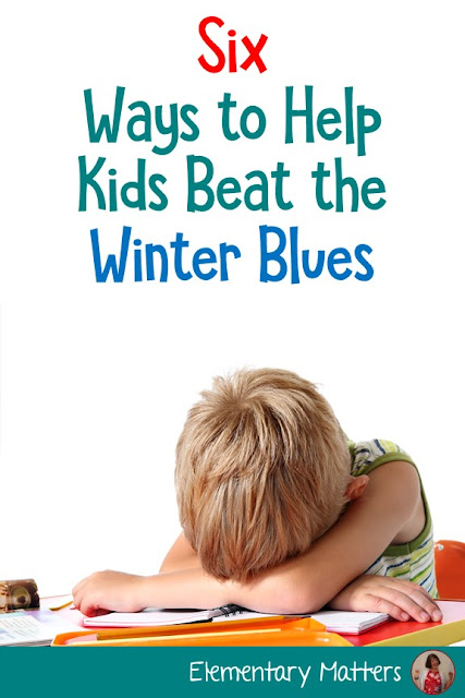 "Six Ways to Help Kids Beat the Winter Blues: Winter can seem very long, and often gets the kids feeling ""down"". Here are some ideas to help them through it!"