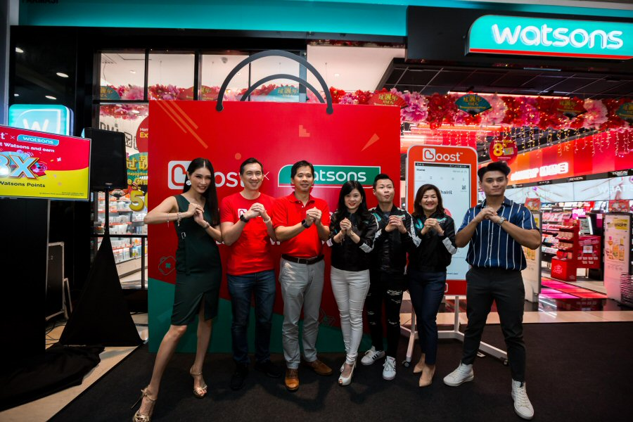 Boost e-wallet accepted at Watsons Malaysia