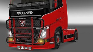 Paintable Bullbar also for Volvo 2013