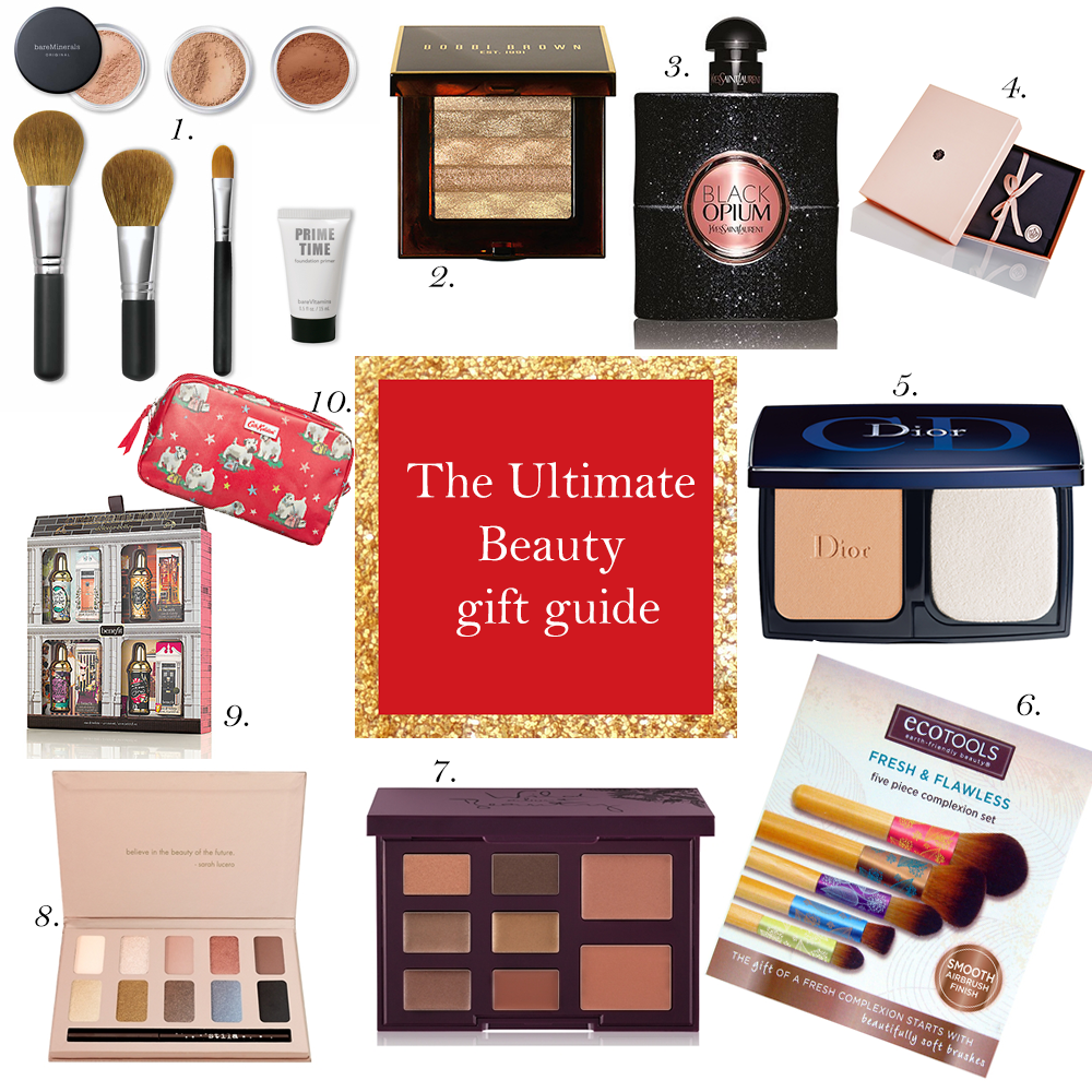 The Ultimate Beauty Christmas Gift Guide | Makeup|Beauty|Cosmetics|Perfume gifts for Christmas