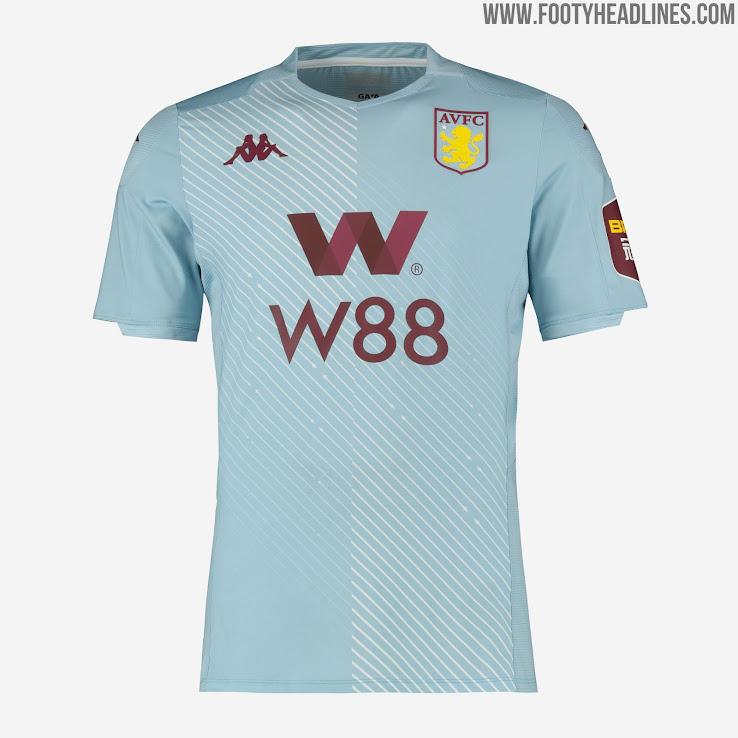 Aston Villa 19 20 Premier League Away Kit Revealed Footy Headlines