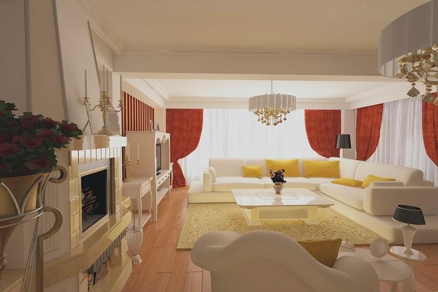 Design interior living clasic Bucuresti - Amenajari Interioare - Design Interior case clasice