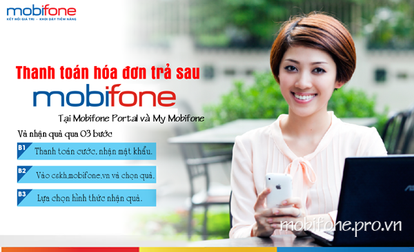 Mobifone khuyến mãi thanh toán trực tuyến ngày 6/12/2016