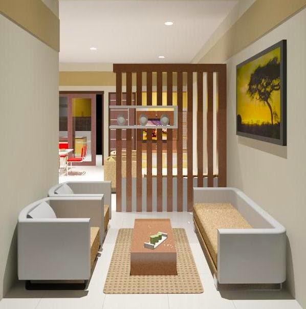 Desain Ruang Tamu Mini