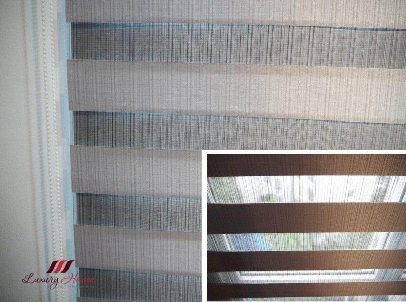zebra day night window blinds alternating stripes