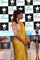 Gorgeous Jacqueline Fernandez  in yellow saree 49.JPG