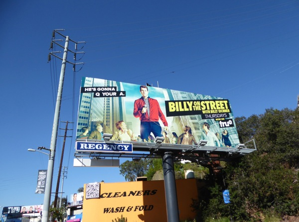 Billy on the Street season 4 billboard