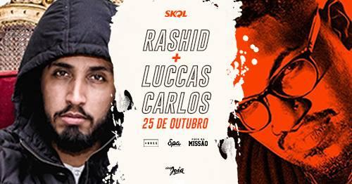 Rashid e Luccas Carlos no Cine Joia (25/10)