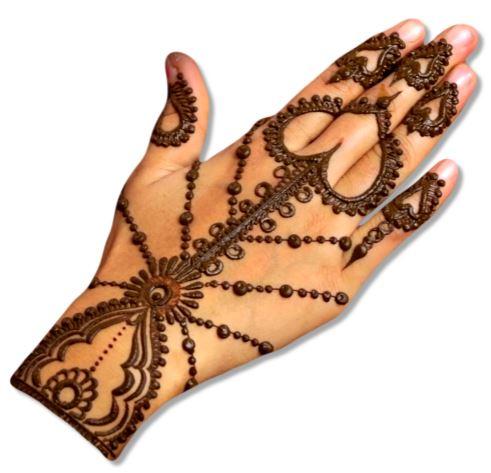 Heat Jewellery Mehndi designs