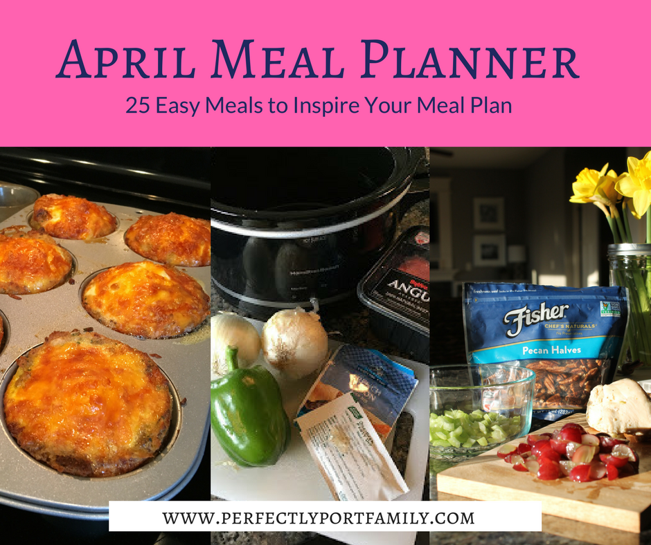 April meal planner 25 easy meal ideas simple purposeful living i am back with another monthly meal plan list if you missed last months you can go here i also shared a video on how i grocery shop and meal forumfinder Choice Image