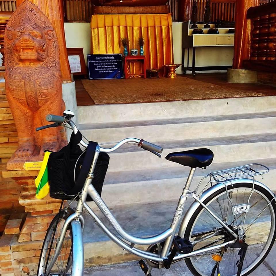 Passeio de bike por Chiang Mai