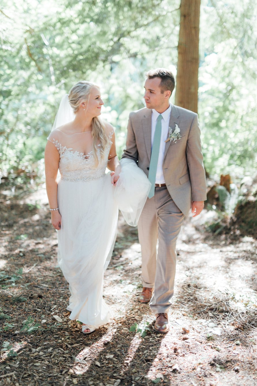 Bright and Romantic Farm Wedding Photography by Something Minted