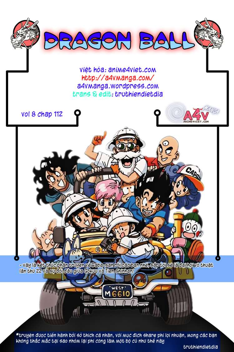 Dragon Ball chap 112 trang 16